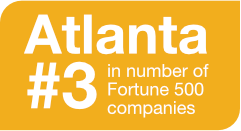 Atlanta #3 in Fortune 500 companies